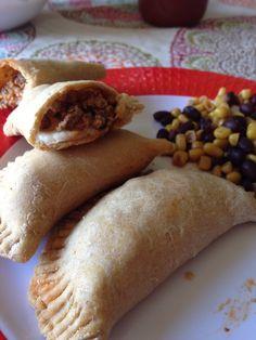 Ground turkey and jack cheese empanadas