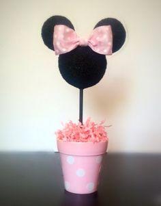 Minnie Mouse inspirado centro de mesa fiesta de Minnie por AmyJays