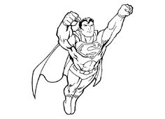 49 Best Superman Coloring Pages Kids Images Superman Coloring