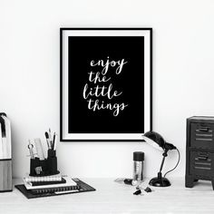 Typography Poster Motivational Print Wall by TheMotivatedType