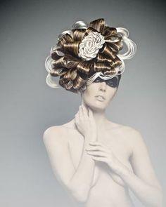 #NAHA2014 Newcomer Stylist of the Year Finalist, Ksenia Kim #Hairstylist #Art…