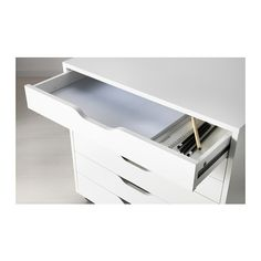 ALEX Drawer unit on casters IKEA Drawer stops prevent the drawer from being pulled out too far. Alex $119