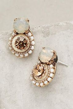 Unique and beautiful earrings - Earring 100 – ONDAISY I Love Jewelry, Jewelry Box, Jewelry Accessories, Jewlery, Wire Jewelry, Jewelry Making, Bijou Box, Winter Wedding Guests, Bling