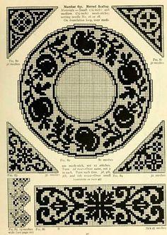 【转载】【引用】 美图后的各种钩针图案(5) - 紅陽聚寶的日志 - 网易博客