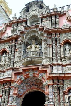 Basilica of La Merced - Lima, Peru