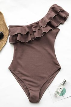 Cupshe It Is You Falbala One-piece Swimsuit