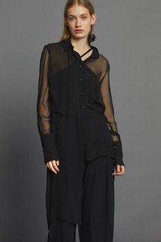Assured Shirt Dress - Black Minimal Beauty, Aw17, Winter White, Dress Black, Luxury Fashion, Dressing, The Incredibles, Shirt Dress, Shirts