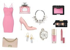 """""""Untitled #2"""" by davidviktoria-1 on Polyvore featuring WithChic, Chanel, NARS Cosmetics, Christian Dior, Margaret Dabbs, Revlon, Sergio Rossi, BillyTheTree, John Lewis and Fantasia by DeSerio"""