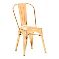 Zuo 108060 Elio Dining Chair Gold