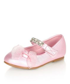 Take a look at this Pink Luciya Mary Jane by Jelly Beans on #zulily today! Gotta love the bling!