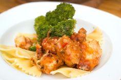 Italiaanse pittige kip. Lekker als tapas- of hoofdgerecht