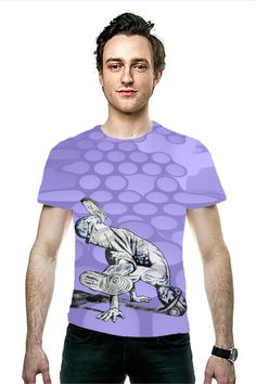 By Richard Tito. All Over Printed Art Fashion T-Shirt by OArtTee