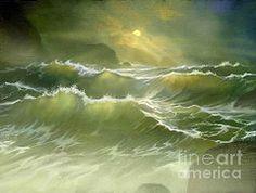 Robert Foster Art - Emerald Sea by Robert Foster