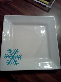 Sharpie plate! & DIY Holiday Cookie Plates | Our Best Crafts and DIY | Pinterest ...