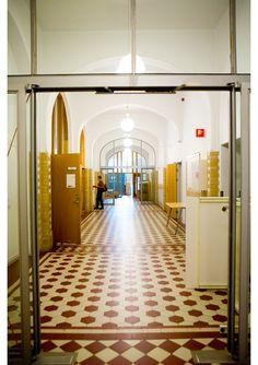 School of Design & Crafts - University of Gothenburg. Beautiful floor.