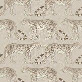 Cole & Son Leopard Walk Stone Wallpaper