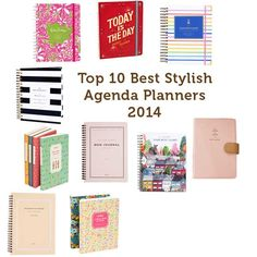Top 10 Best Planners Agendas - all but one of my favourties made this list