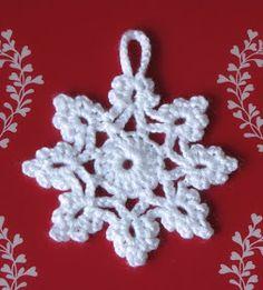 54 Ideas crochet christmas snowflakes pattern link for 2019 Crochet Snowflake Pattern, Crochet Stars, Crochet Motifs, Christmas Crochet Patterns, Holiday Crochet, Crochet Snowflakes, Christmas Snowflakes, Crochet Flowers, Christmas Knitting