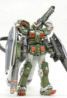 Custom Build: MG 1/100 Full Armor Gundam [Gundam Thunderbolt ver.] MSV Type - Gundam Kits Collection News and Reviews