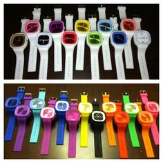 Sweeten Up Your Wristwear: Juiced Watches. WANT ONE!