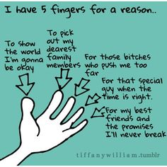 5 fingers for a reason