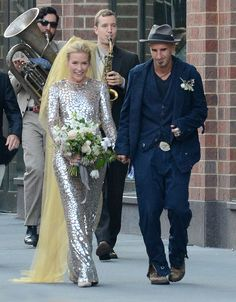 Piper Perabo weds Stephen Kay in New York City, New York on July 26, 2014.