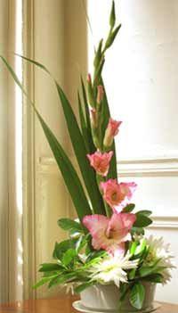 Blumengestecke  Kreation - Anleitung - Konservierung
