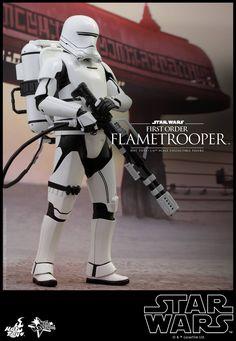 Star Wars: The Force Awakens Hot Toys Flametrooper