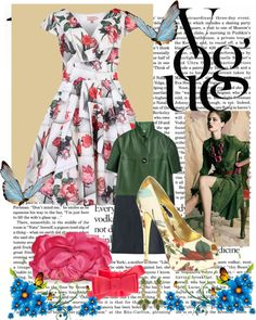 Flower Bloom - Wedding Guest Outfit 21/05/12, created by polly-wore on Polyvore