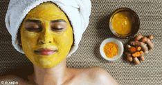 So in what ways can you use turmeric for face? Let's start off with how turmeric works well for a skin care. This is just one of the many benefits of turmeric. Turmeric For Skin, Diy Turmeric Face Mask, Raw Turmeric, Turmeric Health, Mascara Hacks, Uneven Skin Tone, Prevent Wrinkles, Oily Skin, Glowing Skin