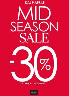 Dal 9 al 15 Aprile da Camomilla Italia partono saldi di metà stagione! Fino al -30% di sconto su articoli selezionati. Vi aspettiamo nei nostri store!