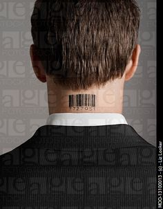 barcode tattoo- I know they're cliche, but I still think they are cool