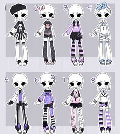 Pastel outfit adopts CLOSED by Lunadopt on DeviantArt