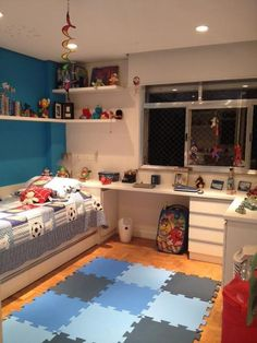 kids room ideas for boys toddler small spaces - toddler room ideas Boys Bedroom Themes, Cool Kids Bedrooms, Kids Bedroom Furniture, Furniture Ideas, Boys Room Design, Kids Bedroom Designs, Bedroom Organization Diy, Toddler Rooms, Boys Bedroom Ideas Toddler Small
