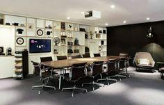 Sala de reuniones para la gente de negocio