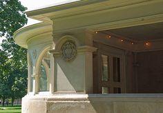 """John Farson House """"Pleasant Home Prairie School, Oak Park, Old Houses, American Art, Art Nouveau, Garden Sculpture, Chicago, Design Inspiration, Mansions"""