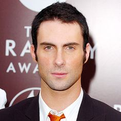 ADAM LEVINE - 2005 Longer sideburns at the Grammy Awards, where Maroon 5 scored Best New Artist for their 'Songs About Jane' album.