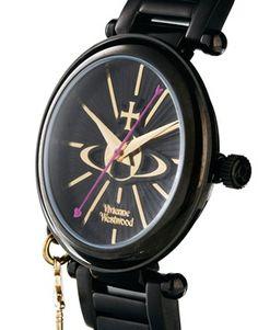 Image 3 of Vivienne Westwood Orb Face Black Watch