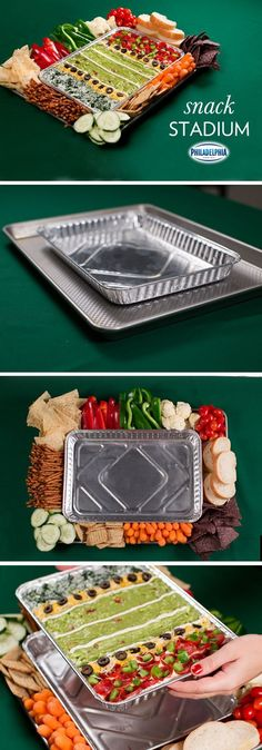 Superbowl Snack Stadium football food party ideas party food party favors superbowl superbowl party party trays