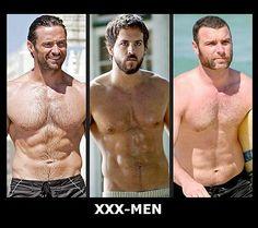 Hugh Jackman CHARACTER: Logan, a.k.a. Wolverine  Ryan Reynolds CHARACTER: Wade Wilson, a.k.a. Deadpool  Liev Schreiber CHARACTER: Victor Creed, a.k.a. Sabretooth