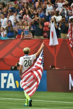 Abby Wambach celebrates the 5-2 victory against Japan in the FIFA Women's World Cup Canada 2015 Final at BC Place Stadium on July 5, 2015 in Vancouver, Canada.