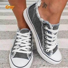 Exclusive New Deals | Tophatter Retro Sneakers, Blue Sneakers, Wedge Sneakers, Casual Heels, Athletic Fashion, Sneaker Brands, Canvas Sneakers, Casual Fall, Casual Party