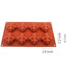iClover 8-Cavity Fleur-de-lis Cake Mold Chocolate Mold Pudding Mold and Muffin Chocolate And Fancy Soap IC ICLOVER http://www.amazon.com/dp/B00D071RFM/ref=cm_sw_r_pi_dp_wV1Lvb0NR9N05