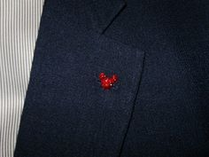 Mouse Ears Lapel Pins for Disney themed Wedding by hairswirls1
