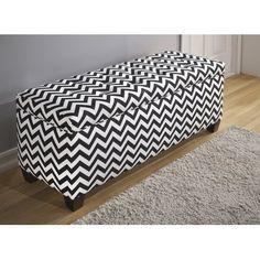 The Sole Secret Upholstered Storage Bench Size: Large