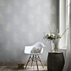 Verdant Grey Wallpaper by Graham and Brown