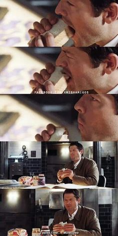 - That is not Cas.... that is 100% Misha Collins face lol