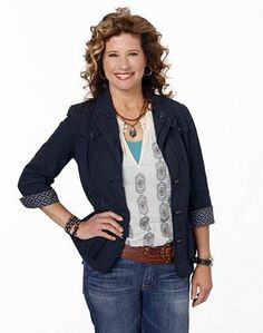 Nancy Travis on Last Man Standing.  I want her wardrobe.