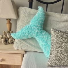Mermaid Decor Pillow Tail Room Decor Bedroom Nursery Turquoise Under the Sea Pillows Kids Teens Adults Baby Shower by Dreamhere on Etsy https://www.etsy.com/listing/507025223/mermaid-decor-pillow-tail-room-decor