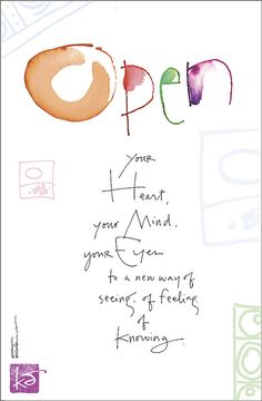 Kathy Davis Dose of Inspiration: Open Your Heart | Flickr - Photo Sharing!
